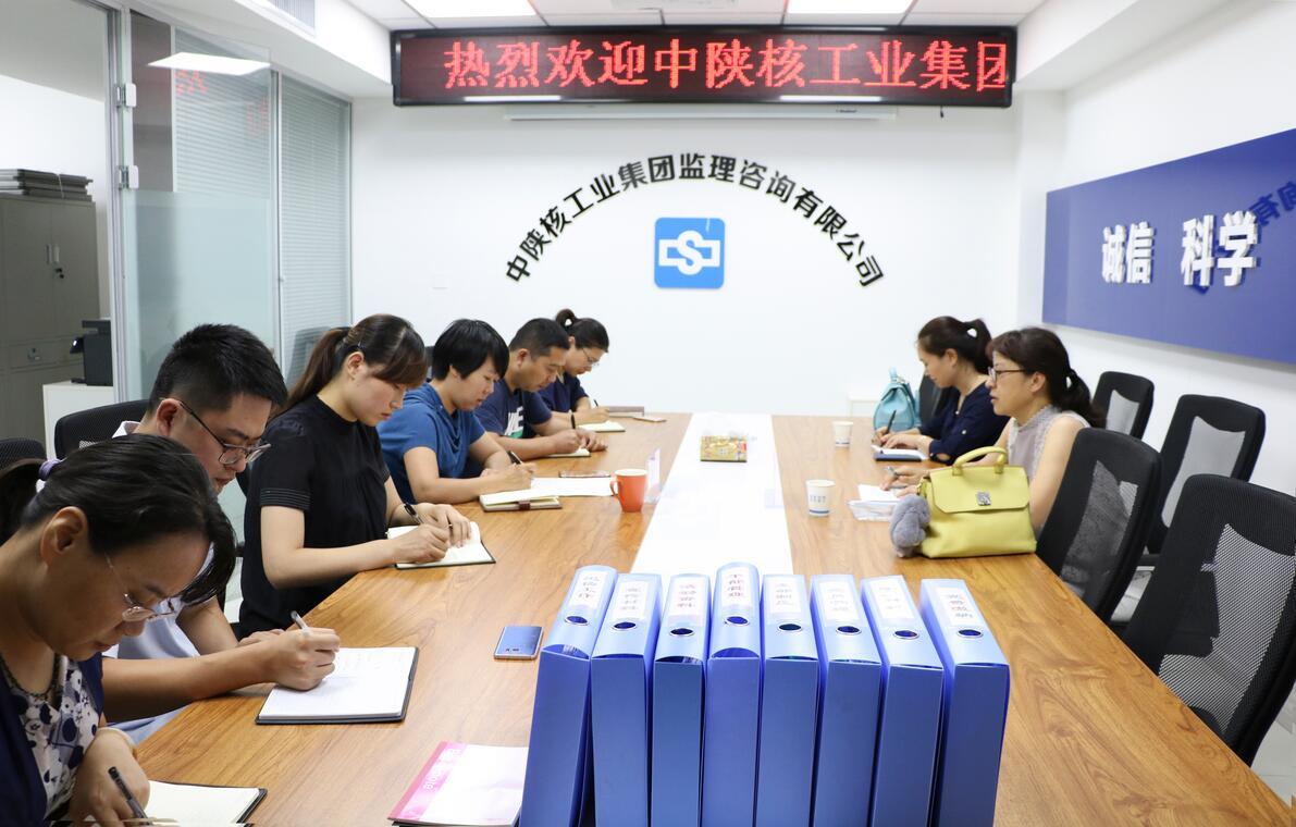 集团公司党委工作部莅临公司检查指导工作