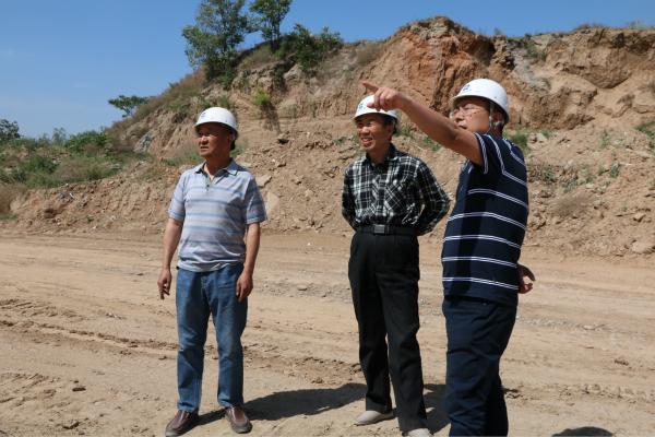 付星赴公司在建工程项目部调研